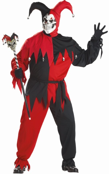 Plus Size Wicked Jester Costume  sc 1 st  Brands On Sale & Plus Size Wicked Jester Costume   Mardi Gras Jester Costumes ...