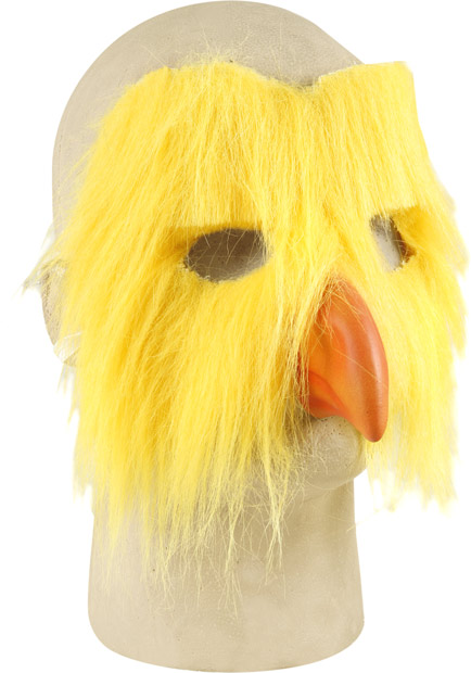 Plush Chicken Costume Face Mask