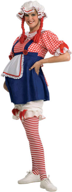 Adult Rag Doll Maternity Costume