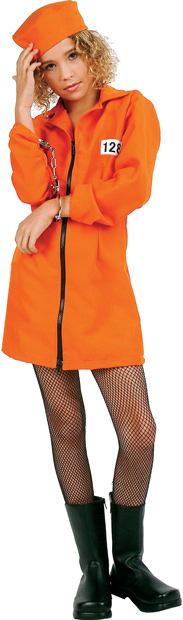 Preteen Girlu0027s Prison Costume  sc 1 st  Brands On Sale : prison costume  - Germanpascual.Com