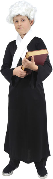 Child's Colonial Lawyer Costume
