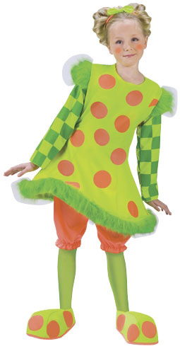 Child's Lolli The Clown Costume