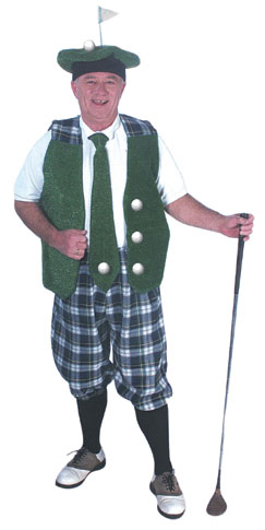 Adult Golfer Costume