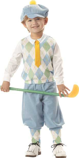 Toddler Little Golfer Costume
