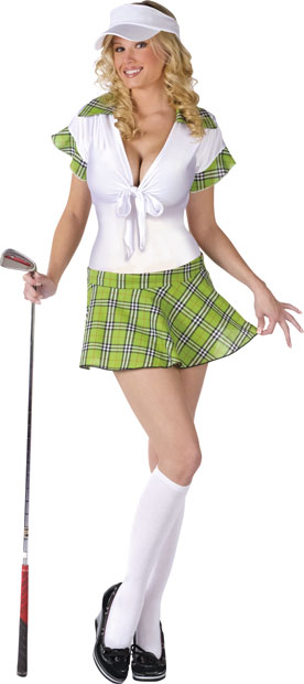 Woman's Sexy Golfer Costume