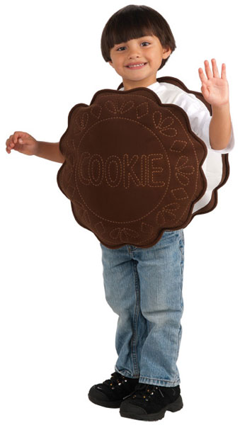 Toddler Chocolate Cookie Costume