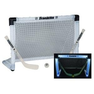 Light Up Hockey Goal, Stick, Ball Set