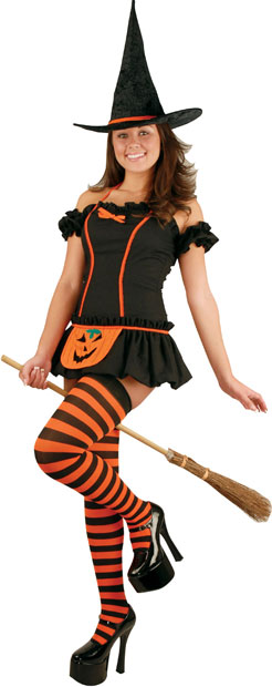 Teen Pumpkin Witch Costume  sc 1 st  Brands On Sale : teen witch costume  - Germanpascual.Com