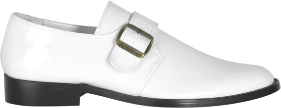 Men's 70s White Loafer Shoes