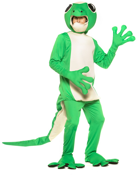 Adult Gecko Lizard Costume