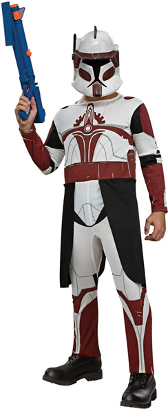 Child's Star Wars Clone Trooper Commander Fox Costume