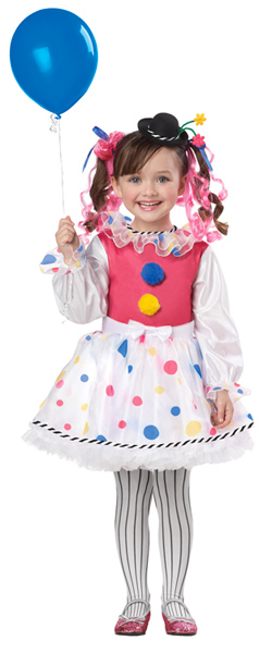 Toddler Cutsy Clown Costume