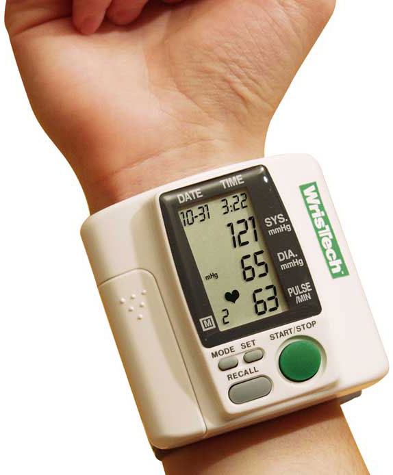 Wrist Blood Pressure Machine