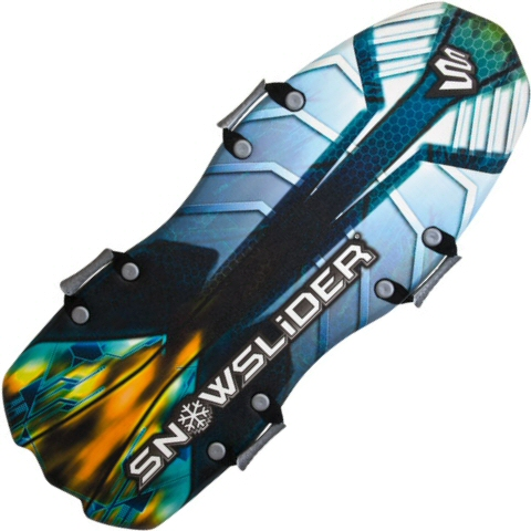 Snow Slider Classic 52 Inch Foam Sled and Toboggan