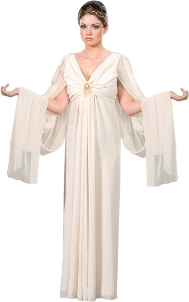 Women S White Roman Toga Robes Theater Costume Roman