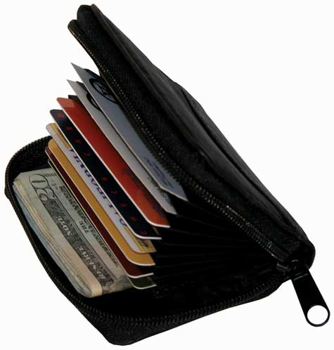 Leather Accordian Wallet
