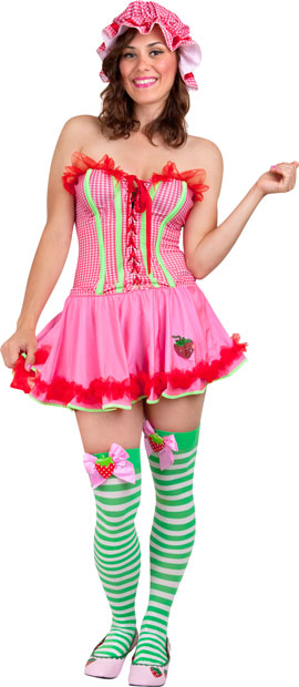 Teen Sexy Strawberry Costume