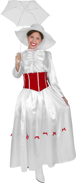 Adult English Nanny Costume
