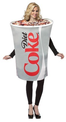 Adult Diet Coke Cup Costume
