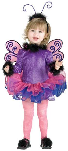 Toddler Purple Butterfly Costume
