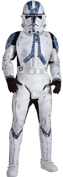 Child's Deluxe Clone Trooper Costume