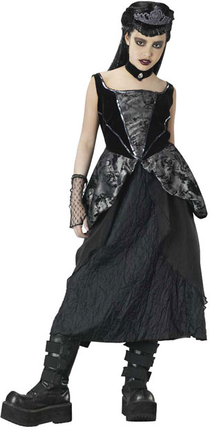 Teen Gothic Princess Costume
