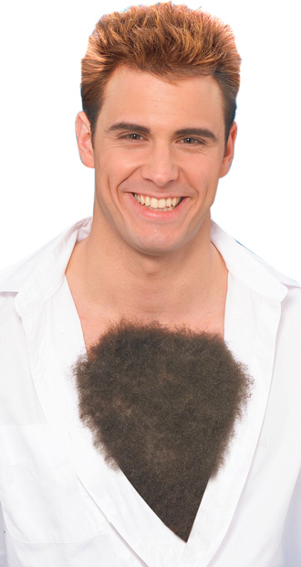 Hairy Chest Costume Prop