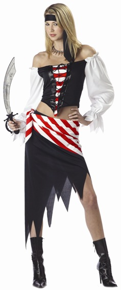 Teen Ruby The Pirate Costume