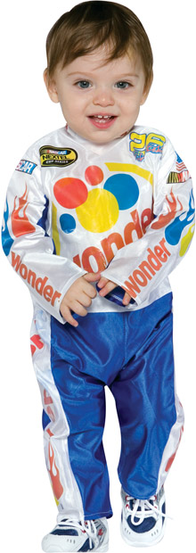 Baby Ricky Bobby Race Car Driver Costume
