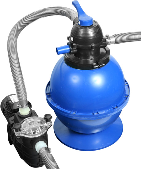 1 HP Pool Sand Filter System