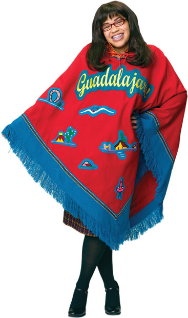 Ugly Betty Poncho Costume