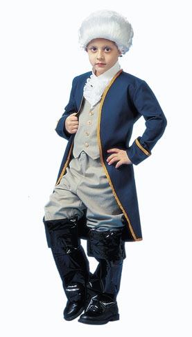 Child's DLX George Washington Costume