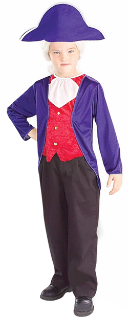 Child's President George Washington Costume