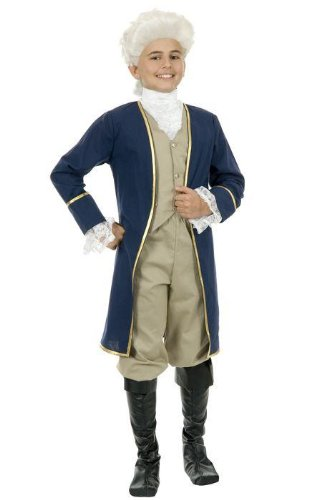 Child's Deluxe George Washington Costume
