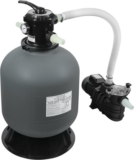 Above Ground Pool Sand Filter System
