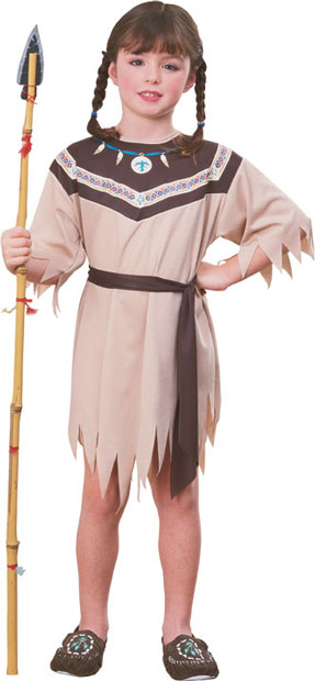 Child's Native American Princess Costume