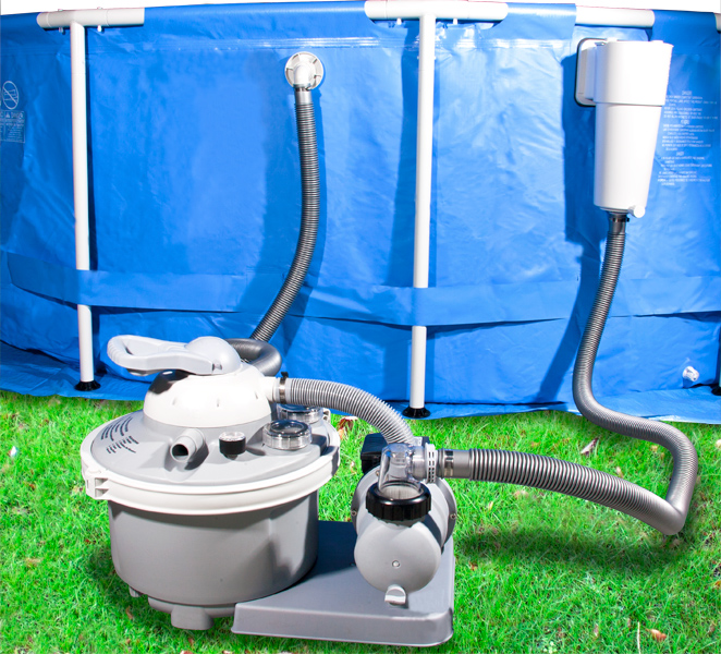 Buy A 1 2 Horsepower Sand Filter System For Intex Pools