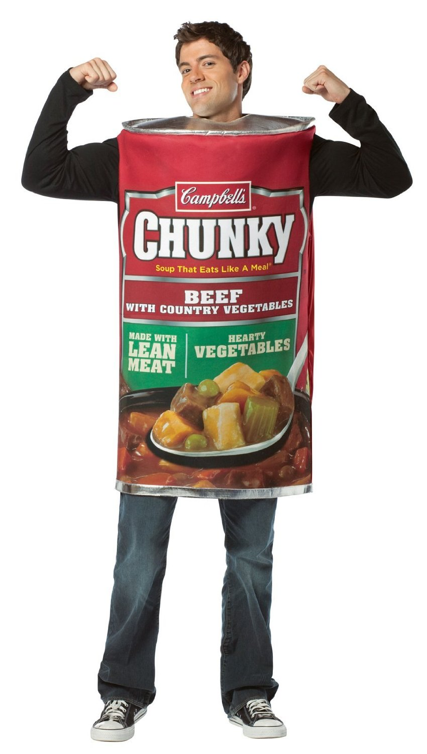 Adult Chunky Soup Can Costume