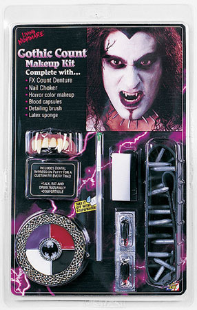 Count Vampire Makeup Kit