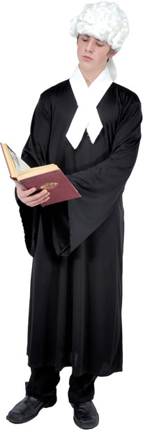 Adult Colonial Lawyer Costume