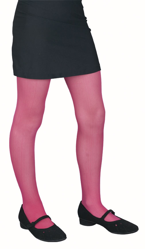 Child's Seamless Red Tights
