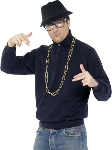 Adult Beastie Boys Rapper Costume Kit