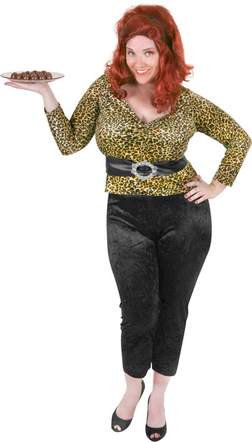Plus Size 80s Housewife Costume