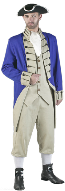 Adult Authentic Colonial Soldier Costume