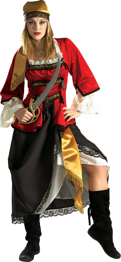 Heritage Lady Pirate Queen Costume