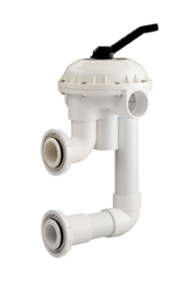 "Pentair Multi-Port Valve 2"" D.E. Filter"