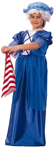 Child's Betsy Ross Costume