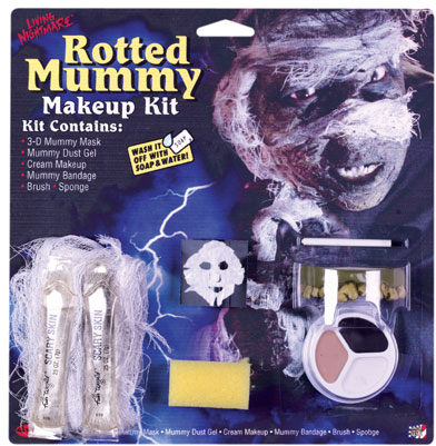 Mummy Halloween Makeup Kit