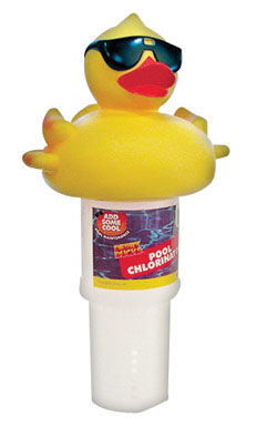 Derby Duck Large Floating Pool Chemical Dispenser