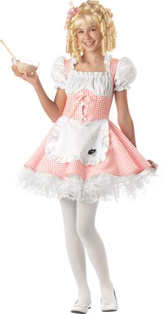 Preteen Little Miss Muffet Costume